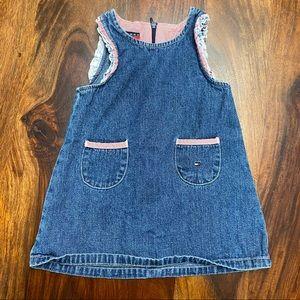 Tommy Hilfiger Baby Vintage Denim Dress, 6-12M